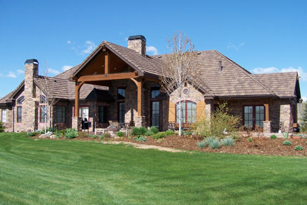Lance johnson contruction and custom homes for Custom country homes